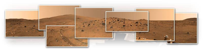 Mars Interactive Panorama